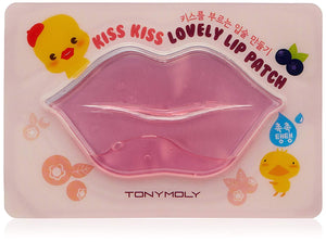 Tonymoly Kiss Lovely Lip Patch, Berry