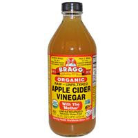 Bragg, Organic Apple Cider Vinegar with The 'Mother', Raw-Unfiltered