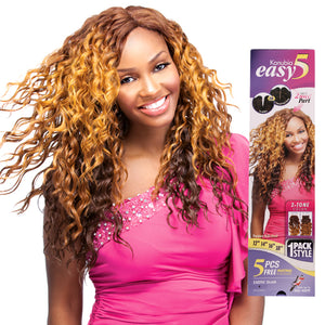 Exotic Glam Sensationnel Kanubia Easy 5 Premium Multi Blend Synthetic Weave