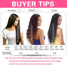 8A Virgin Individual Hair Bundles - One Bundle