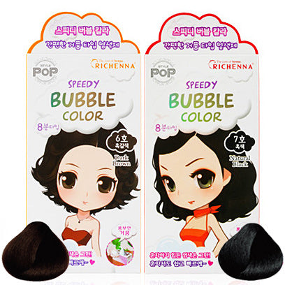RICHENNA Style Pop Bubble Color Cream- Natural Black