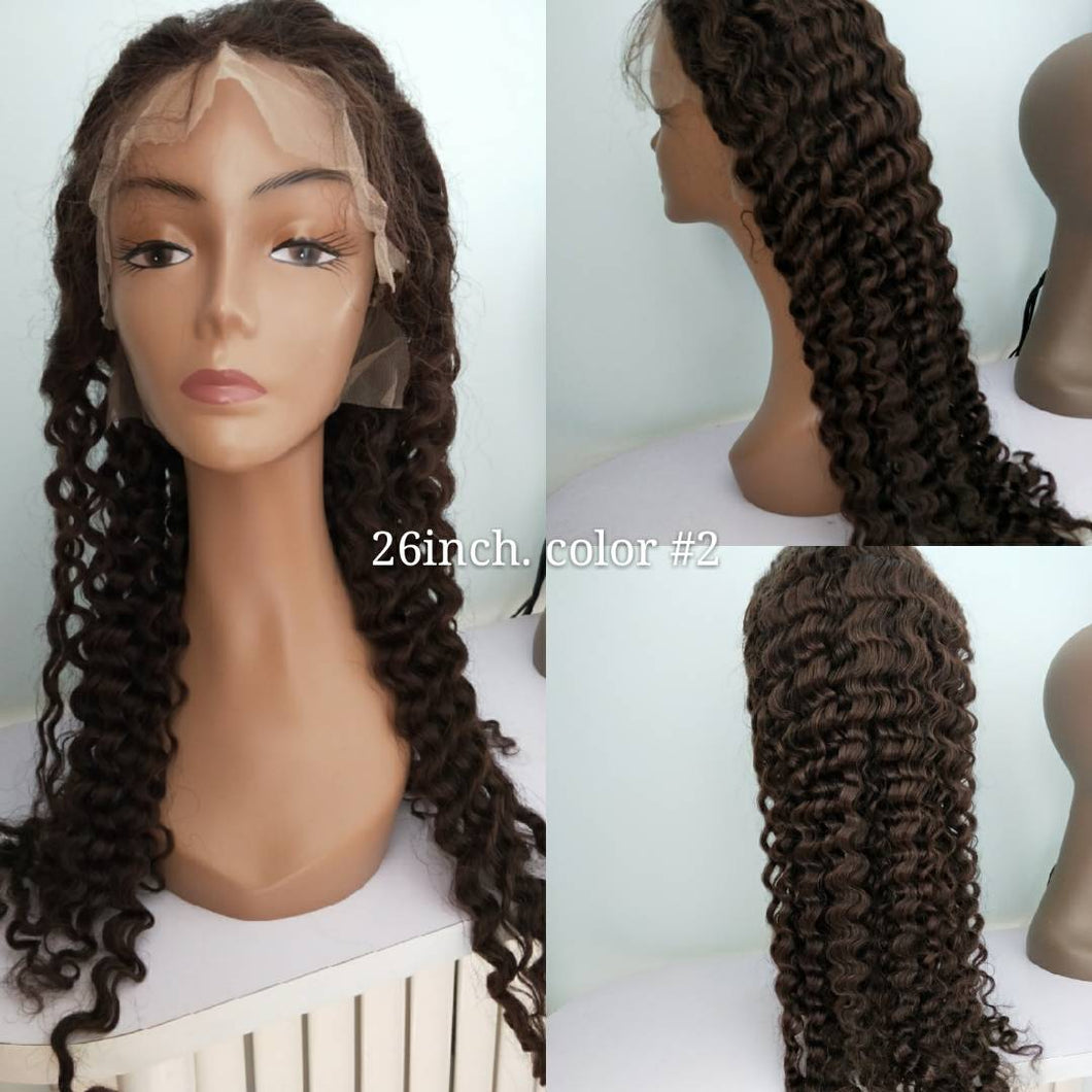 Long Deep Wave Curly Wig