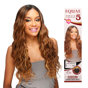 Invisible Loose Deep 5 Pcs- Model Equal Synthetic Weave