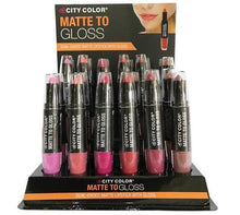 City Color Collection Matte To Gloss