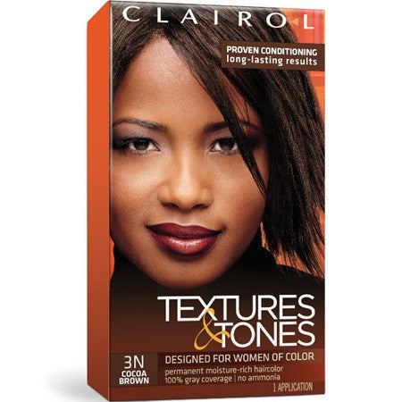 Clairol textures and tones - 3N Cocoa Brown