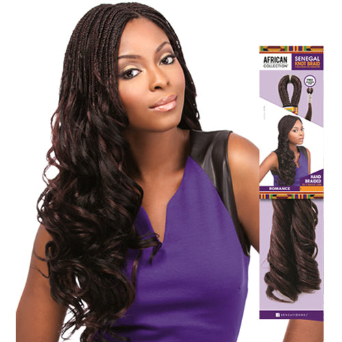 Romance- Sensationnel African Collection Senegal Knot Synthetic Braid