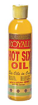 African Royale Hot Six Oil 8oz