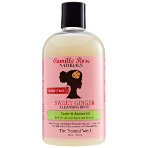 Camille Rose Sweet Ginger Sulfate Free Cleansing Rinse 12 oz