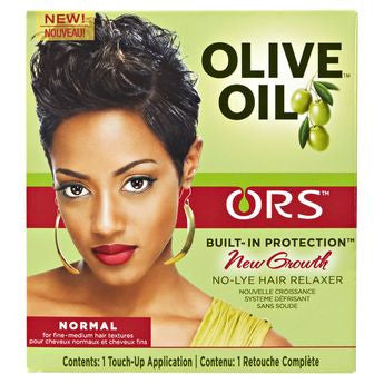 Ors Olive Oil No-Lye Relaxer New Growth Kit