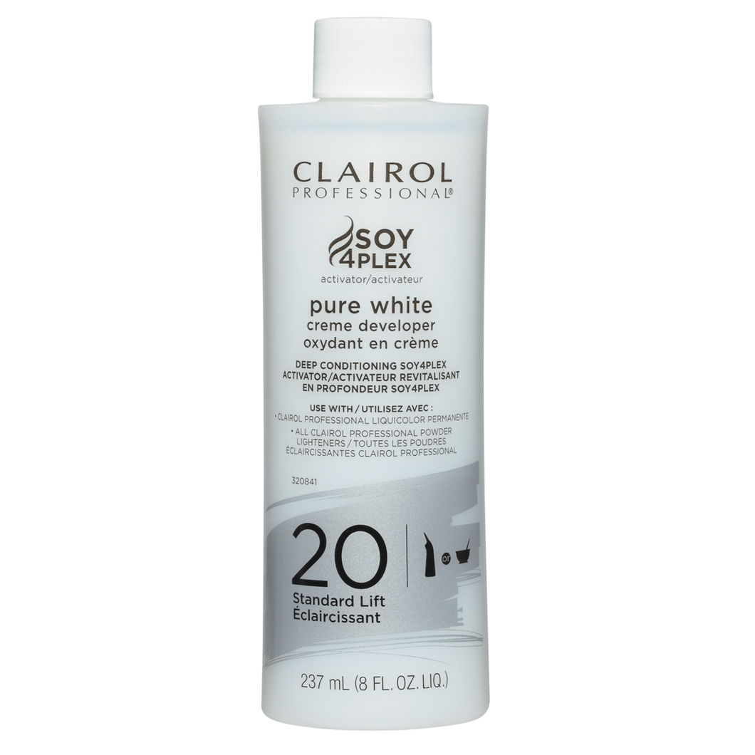 Clairol Professional 20 Pure White Creme Developer 16 oz