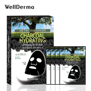Charcoal Hydrating Ampoule Mask (4 pack)