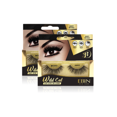 EBIN NEW YORK WILD CAT EYE 3D LASH ABBY