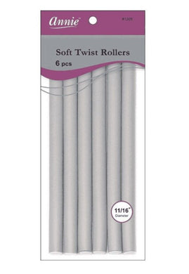 Beauty Depot ANNIE: Soft Twist Rollers 11/16
