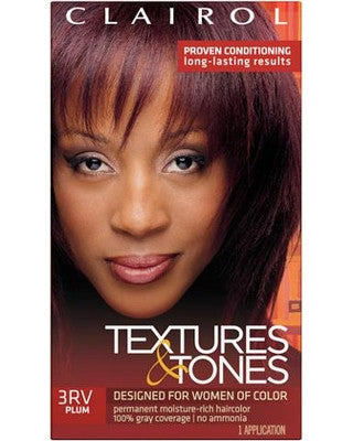 Clairol textures and tones - Plum