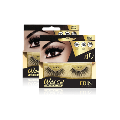 EBIN NEW YORK WILD CAT EYE 3D LASH-COCO