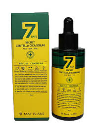 7 Days Secret Centella Cica Serum 50ml / AHA BHA PHA