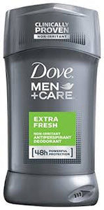 Dove Men+Care Antiperspirant Deodorant, Extra Fresh 2.7 oz
