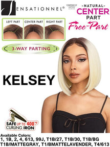 Sensationnel Empress Natural Center Part Lace Front Wig Kelsey Color 1