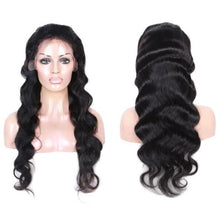 Custom Bodywave Human Hair Lace Front Wig, Free Part/ Middle Part  26inch.