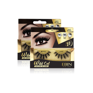 EBIN NEW YORK WILD CAT EYE 3D LASH- LUCY