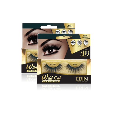 EBIN NEW YORK WILD CAT EYE 3D LASH-MAX