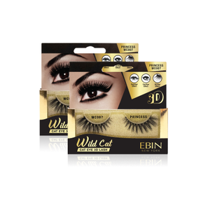 EBIN NEW YORK WILD CAT EYE 3D LASH-PRINCESS