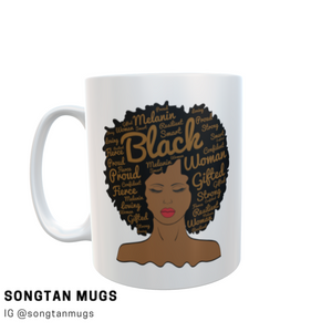 Cusom Mug Black Woman