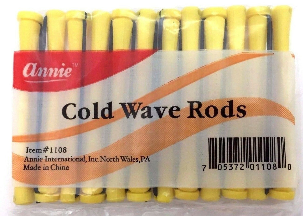 Annie Short cold wave rods  12 CT  #1108