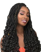 SENSATIONNEL X-PRESSION PRE-LOOPED SYNTHETIC CROCHET BRAID - 3X GODDESS LOCS 18""