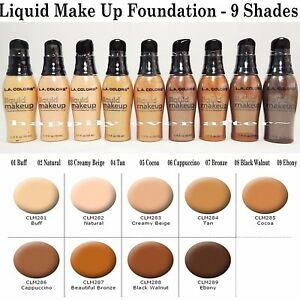LA Colors  Liquid Make Up Foundation