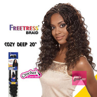 "COZY DEEP 20"" - Freetress Premium Synthetic Hair Braid Crochet 20inch"