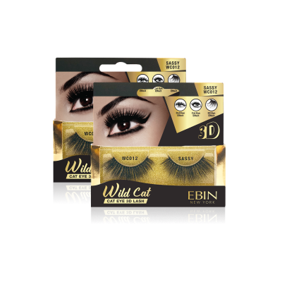 EBIN NEW YORK WILD CAT EYE 3D LASH-SASSY