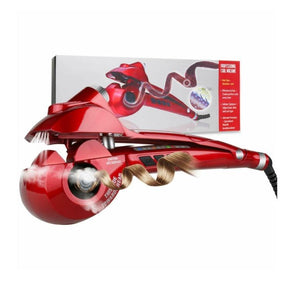 Spa Steam Curl Professional Automatic Hair Steam Curler Ceramic Curling Iron