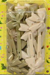 Barrettes Large Bow-ties