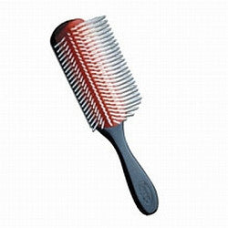 7 Row Denman Classic Styling Brush  Translucent