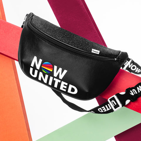 Bolsa Pochete Infantil Now United By Pampili Preta