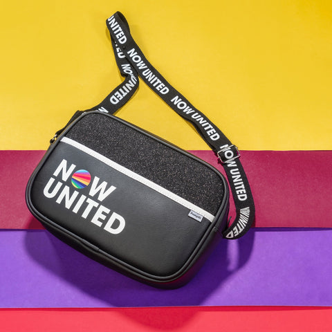 Bolsa Tiracolo Infantil Now United By Pampili Preta