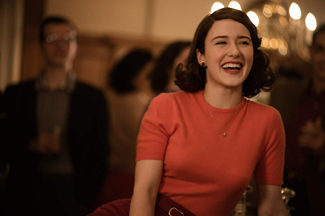 Rachel Brosnahan and James Corden Team Up for 'The Marvel's Mrs. Maisel'