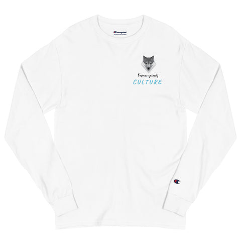 Culture Fanatics x Champion Long Sleeve Shirt