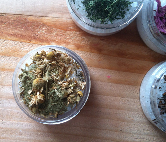 Bath Salt {SOOTHING & RELAXING} Chamomile & Lavender - Natuer House