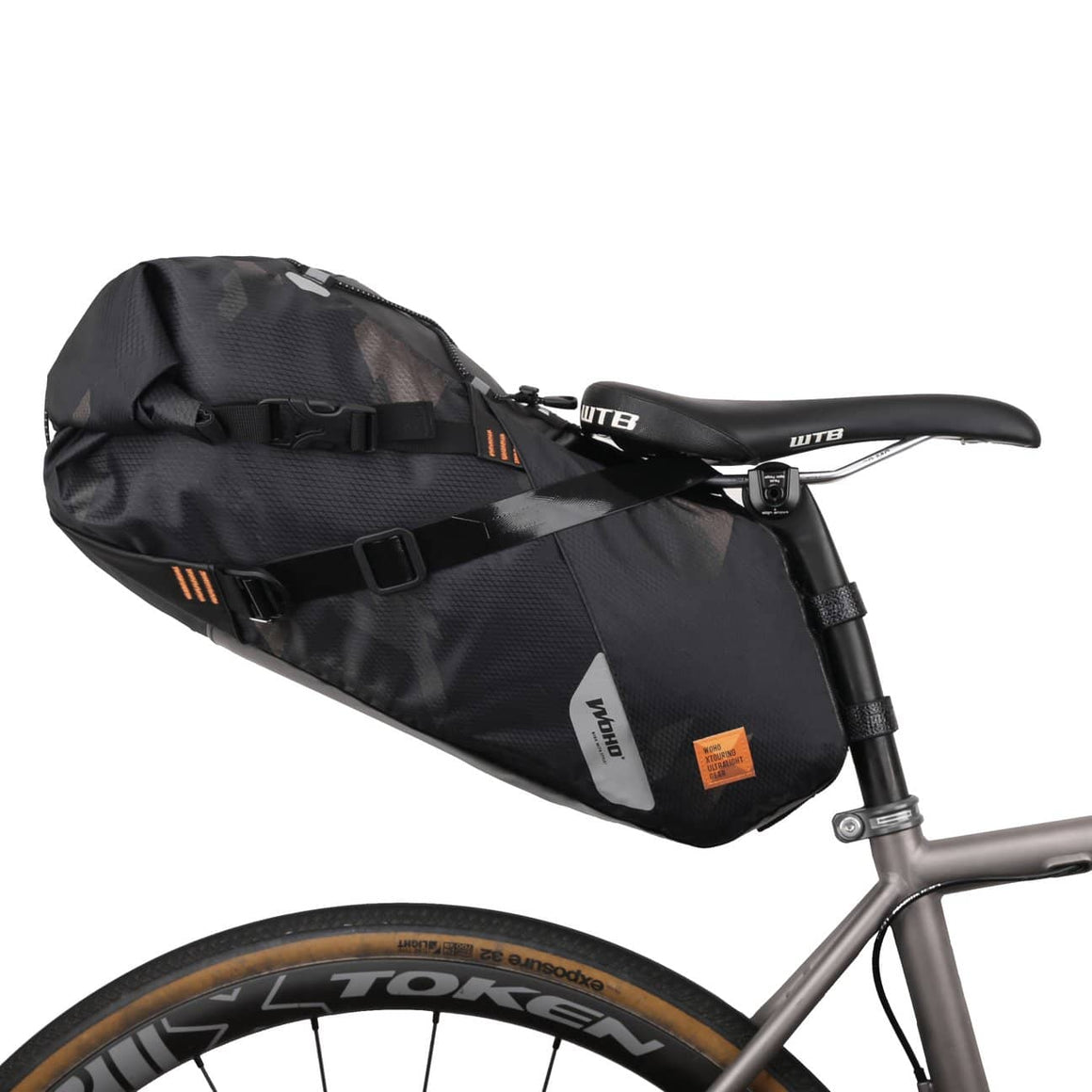 WOHO Ultralight Saddle Bag - 18L - Waterproof - Cycle Touring Life