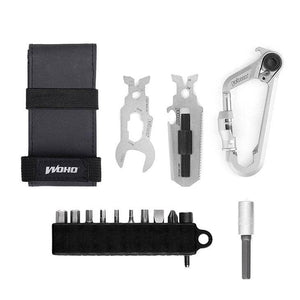 WOKit™2.0 Bikepacking Kit Carabiner multi-tool - Cycle Touring Life