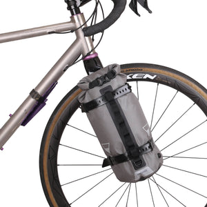 Bikepacking Ultralight 7L Fork Bag with Cage and Grips - Cycle Touring Life