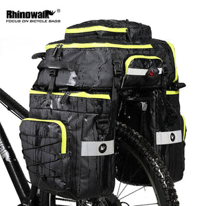 Touring 3 in 1 Trunk Bags 70L Total Capacity - Cycle Touring Life