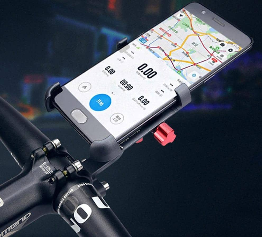 Aluminum Alloy Phone Mount 360 Rotatable - Cycle Touring Life
