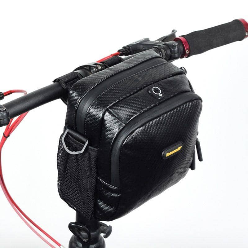 Waterproof Handlebar and Shoulder Bag - Cycle Touring Life