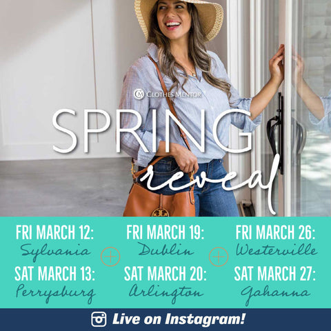 Spring Reveal lineup with Dates