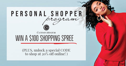 personal shopper promotion