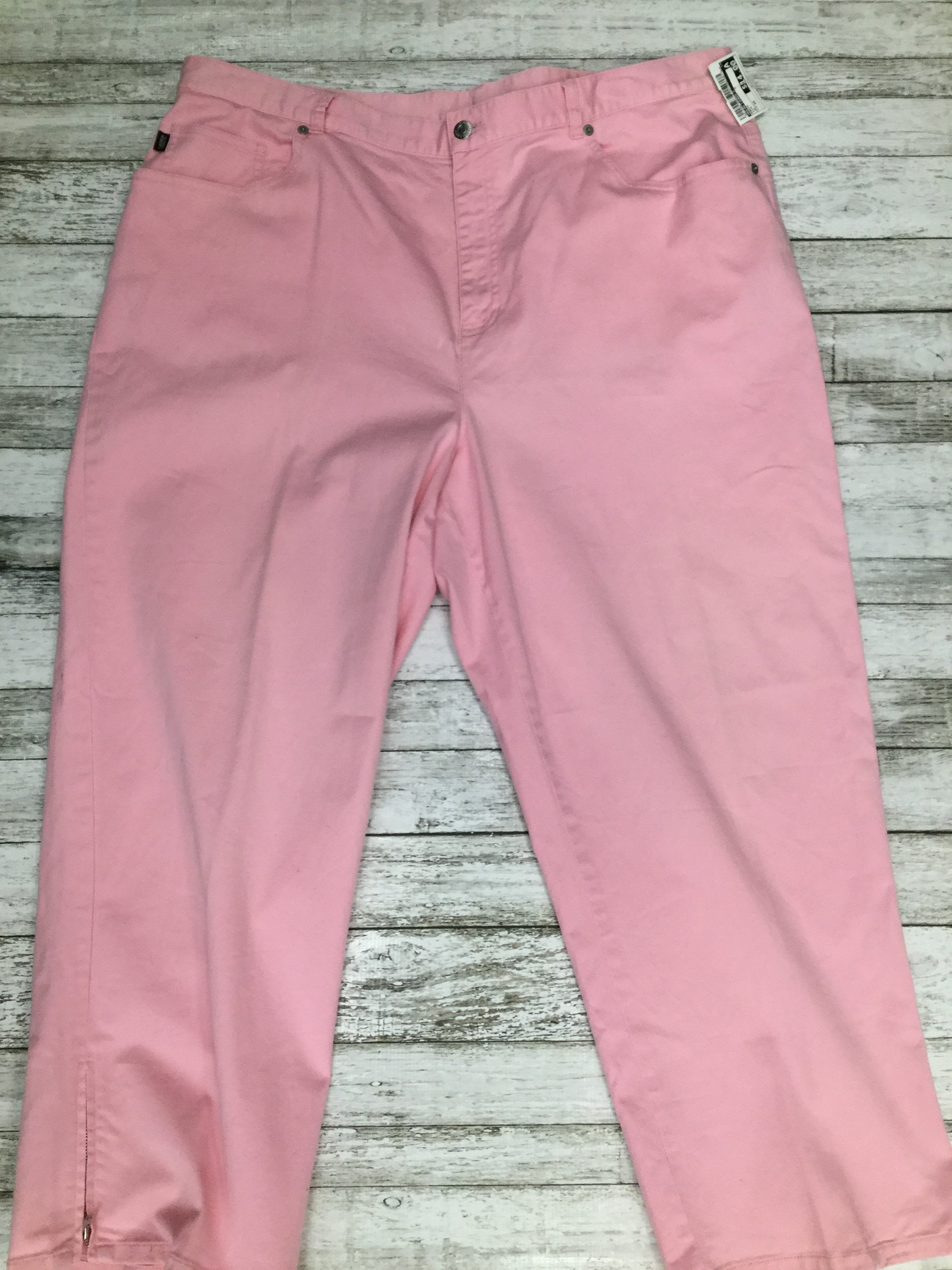 Primary Photo - BRAND: RALPH LAUREN O <BR>STYLE: PANTS <BR>COLOR: PINK <BR>SIZE: 22 <BR>SKU: 105-2768-29543