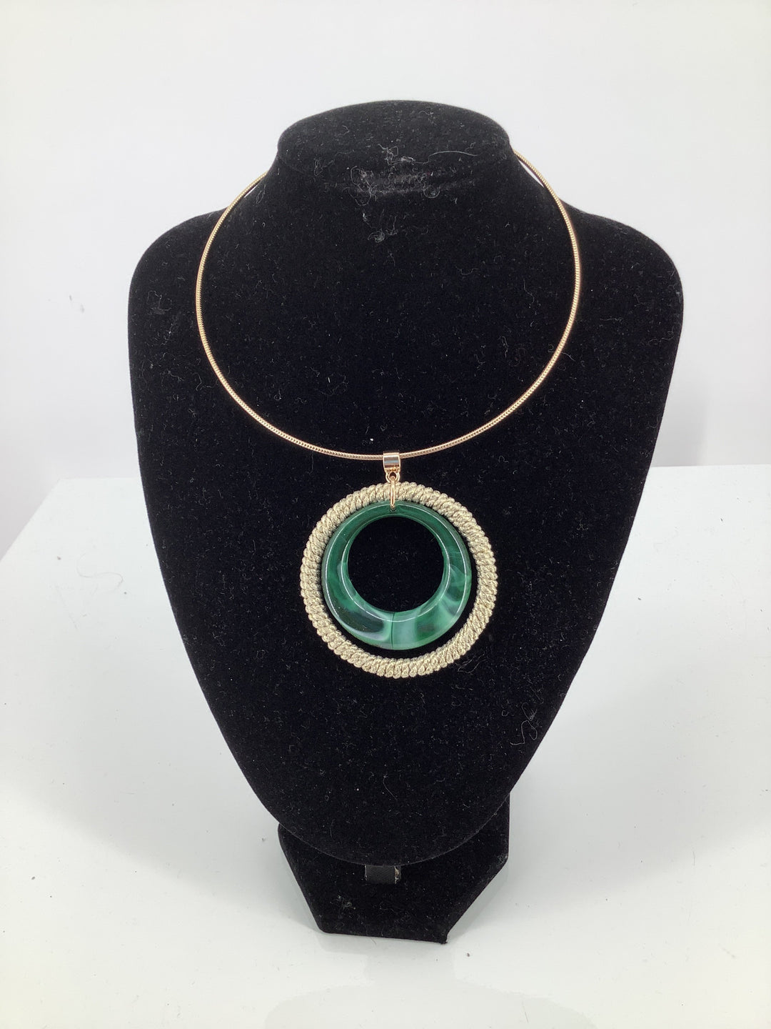 Primary Photo - brand:    cmd , style: necklace , color: emerald , sku: 105-4605-10391